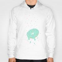 sprinkles Hoodies featuring donut sprinkles by ptero