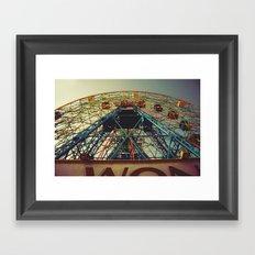 Going Through The Motions Framed Art Print