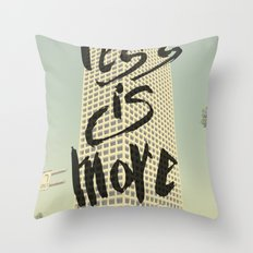 Less is More - Los Angeles -  Throw Pillow