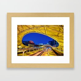 Denver Union Station - 1914 Beaux-Arts Train Station Framed Art Print