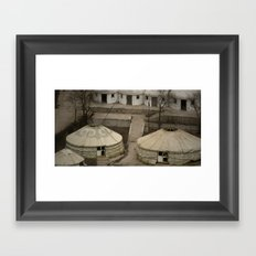 Mongolian Get-away Framed Art Print