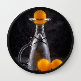 Ping-pong, the game is over. Wall Clock