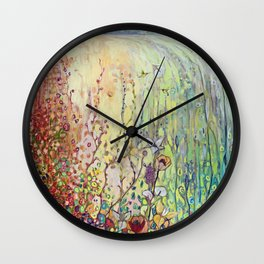 Crossing Over Wall Clock
