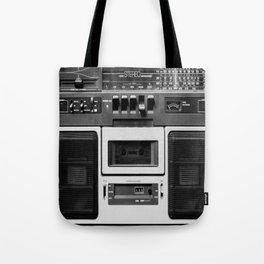 cassette recorder / audio player - 80s radio Tote Bag