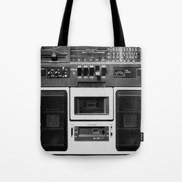 cassette recorder / audio player - 80s radio Tote Bag