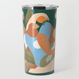 Time with friends is time well spent Travel Mug