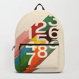 Retro Numbers Backpack