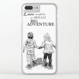 To Love Clear iPhone Case