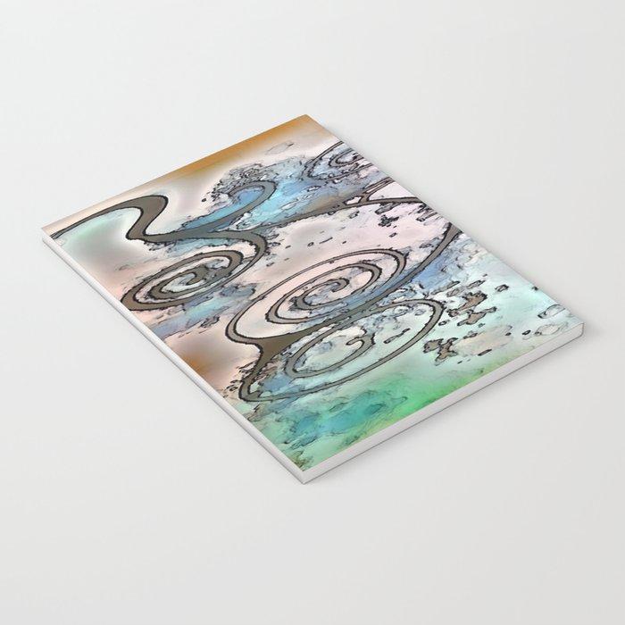 Vintage swirl Notebook