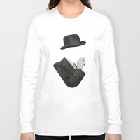smoke Long Sleeve T-shirts featuring Smoke by Lerson