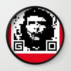QR- Che Wall Clock