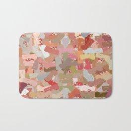 Coral Beads Paint Splatter 5050 Bath Mat