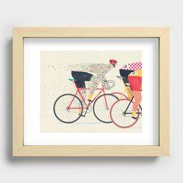 Tour de France Recessed Framed Print