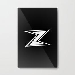 Zee Metal Print