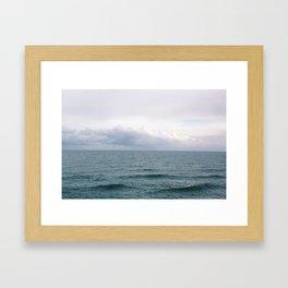 The Ocean View Framed Art Print