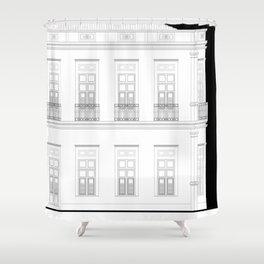 Brazil Facade Shower Curtain