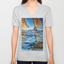 Racing Sails Unisex V-Neck