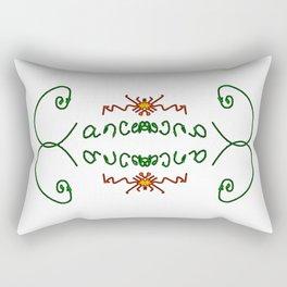 Cancer Rectangular Pillow