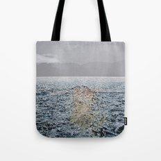 Swimming under the rain Tote Bag