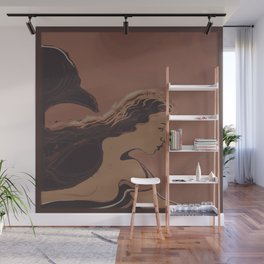 Mermaid / Sketch Wall Mural
