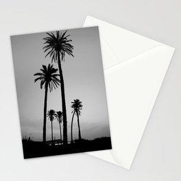 silver palms Stationery Cards