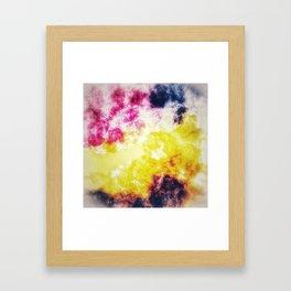 Watercolor effect digital art Framed Art Print