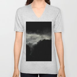Stormy Clouds Unisex V-Neck