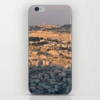 israel iPhone & iPod Skins featuring Jerusalem Living in Israel by Rachel J