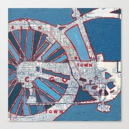 Bike Chicago - Grant Park Canvas Print
