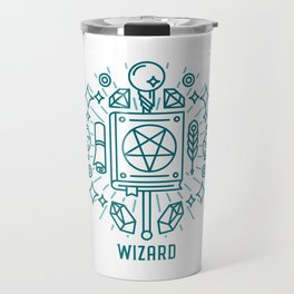 Wizard Emblem Travel Mug