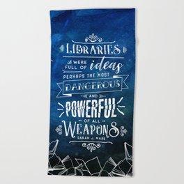 Libraries Beach Towel