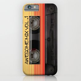 Awesome Mix Cassette Vol.1 iPhone Case