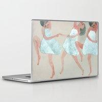 dancer Laptop & iPad Skins featuring Dancer by Sara Stefanini