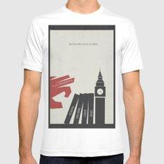 V Vendetta, Alternative Movie Poster, graphic novel by Alan Moore White MEDIUM Mens Fitted Tee
