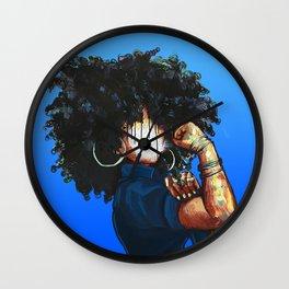 Naturally the Riveter  Wall Clock