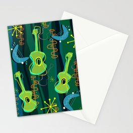 Music Was In The Air Stationery Cards