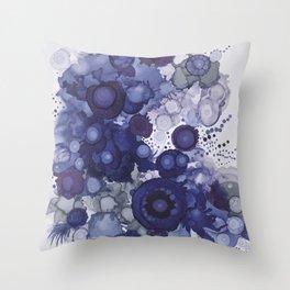 Stonewash Bubbles  Throw Pillow