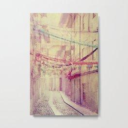 street party Metal Print