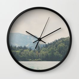 into the wilderness she went ... Wall Clock