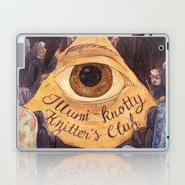 Illumi-Knotty Knitter's Club Laptop & iPad Skin
