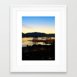 Peaceful Industry Framed Art Print