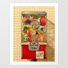 25¢ Art Print