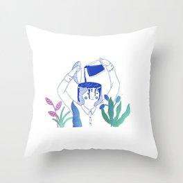 Monday Coffee Throw Pillow