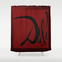 dali Shower Curtains featuring Dali by Turul