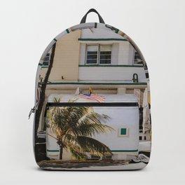 Miami Beach Ocean Drive USA | Fine Art Travel Photography Backpack