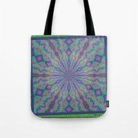 grateful dead Tote Bags featuring Grateful by gretzky