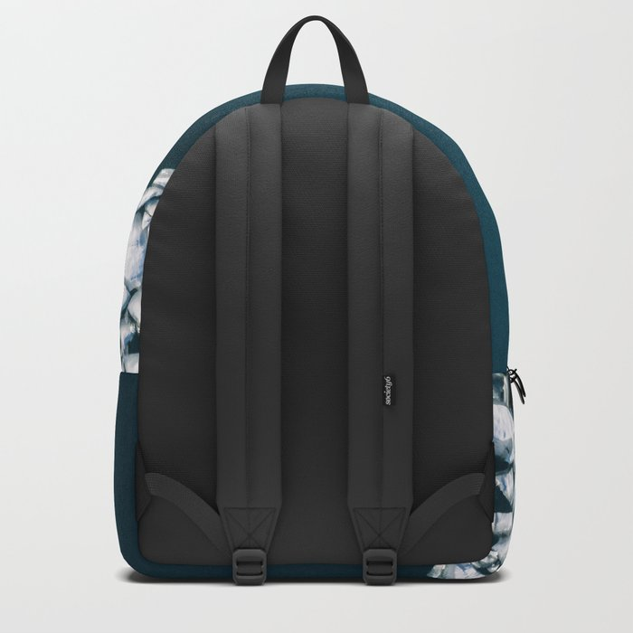 Minimalist Ice Bergs in the blue Ocean - Aerial Photography Backpack