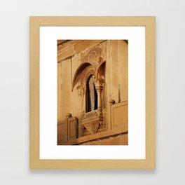 Jaisalmer Fort 01 Framed Art Print