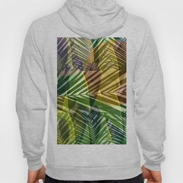 exotic palms abstract Hoody