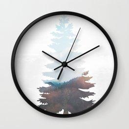 Tree Tops Wall Clock